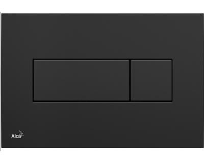 Кнопка смыва AlcaPlast M578 черная матовая