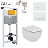 Инсталляция OLI 120 OLIpure (Fresh) с унитазом Ideal Standard Tesi Aquablade