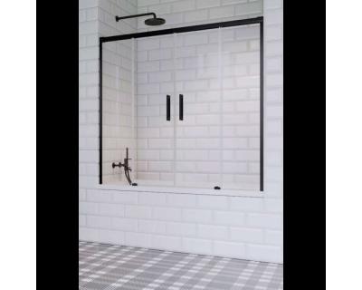 Душевая шторка на ванну Radaway Idea PN DWD 180 Black, 10004180-54-01