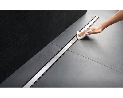 Крышка дренажного канала Geberit CleanLine 20 154.453.KS.1, L30-160 см, полированная/матовая нержавеющая сталь