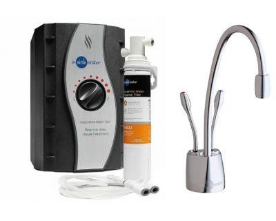 Системы мгновенного кипячения воды InSinkErator, F-HC1100С, хром глянец