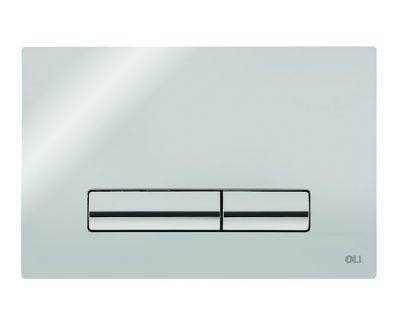 Панель смыва механическая OLI GLAM OLIpure хром (139179)
