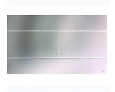 Панель смыва механическая OLI Slim Inox (нержавеющая сталь) хром мат. (057141)