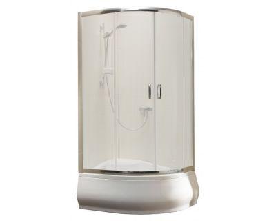 Душевой уголок Radaway Premium A 90x90х170 стекло фабрик + душевой поддон Indos A