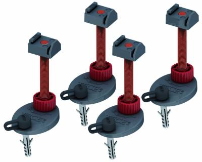 Опоры для душевых лотков TECE 137-184 мм (4 шт), 660004