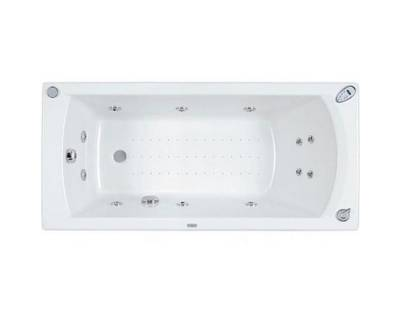 Акриловая ванна Poolspa Linea XL 160x75 с ножками PWP3F10ZN000000
