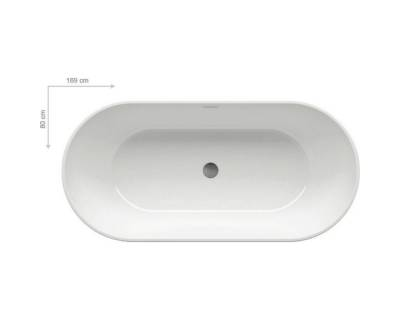 Акриловая ванна Ravak Freedom O 170x80