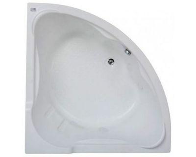 Акриловая ванна BAS Ирис 150х150 на каркасе с сифоном