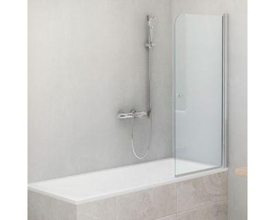 Шторка для ванны ROLTECHNIK TV1/70 хром/прозрачное, 706-7000000-00-02