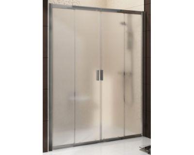 Душевая дверь Ravak Blix BLDP4-150 0YVP0U00ZH сатин + стекло графит