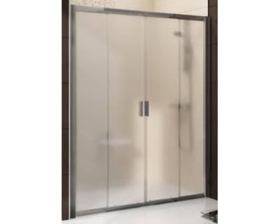 Душевая дверь Ravak Blix BLDP4-170 сатин + стекло графит 0YVV0U00ZH