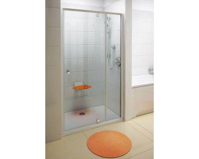 Душевая дверь Ravak Pivot PDOP2-100 белый/хром + транспарент 03GA0100Z1