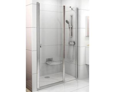 Душевая дверь Ravak Chrome CSD2-100 белый+транспарент 0QVAC100Z1