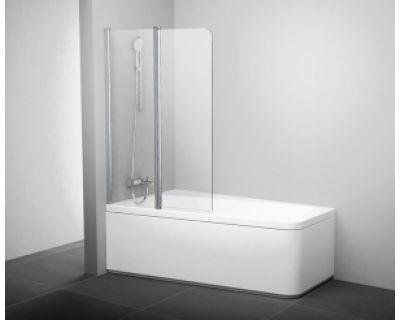 Шторка для ванны Ravak 10° 10CVS2 L сатин+транспарент 7QLA0U03Z1