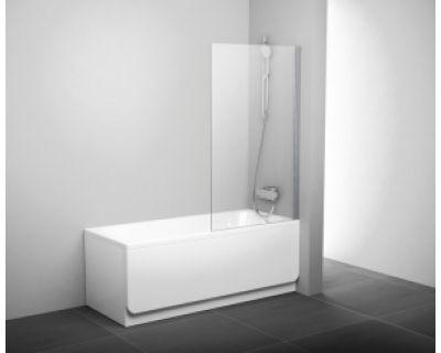Шторка для ванны Ravak PVS1-80 блестящая + стекло транспарент 79840C00Z1