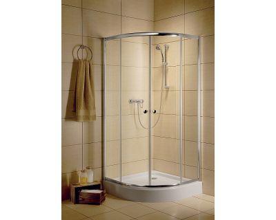 Душевой уголок Radaway Dolphi Classic A900 90x90x185 стекло прозрачное + поддон Tinos A