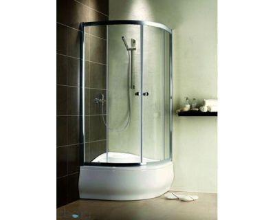 Душевой уголок Radaway Premium A 90x90х170 стекло прозрачное + душевой поддон Indos A
