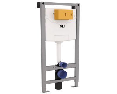 Инсталляция для подвесного унитаза OLI 120 пневматическая 154080 (177306)