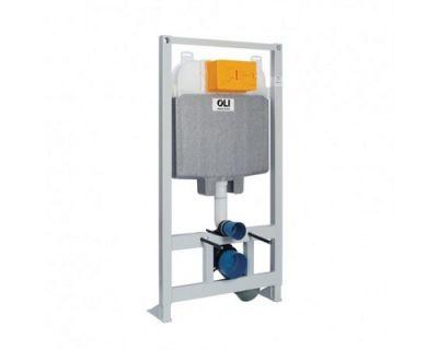 Инсталляция для унитаза OLI 74 Plus Happy Air 048590 с вытяжкой запахов механическая