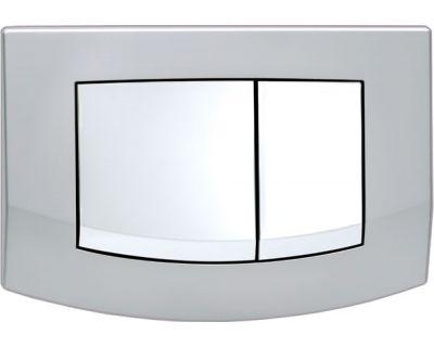Смывная клавиша TECEambia 9240253, рамка - матовый, клавиши - глянцевый