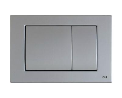 Панель смыва механическая OLI Metal Dual хром мат. (656006)
