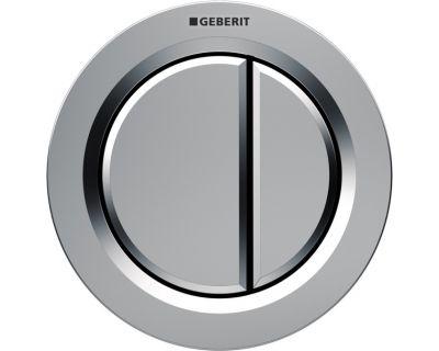 Клавиша пневмосмыва Geberit Type 01 116.042.46.1 мат/хром