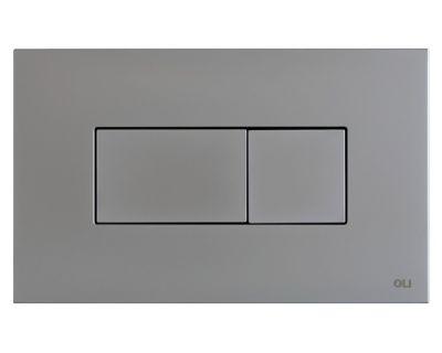 Панель смыва пневматическая OLI Karisma хром мат. (641006)