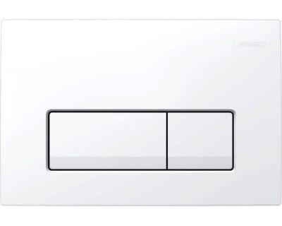 Смывная клавиша Geberit Delta51, 115.105.11.1 для двойного смыва