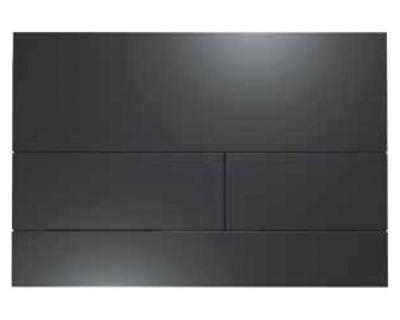 Смывная клавиша TECEsquare 9240833, сталь, черная