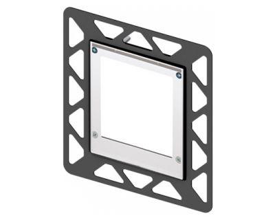 Монтажная рамка для стеклянных панелей TECE Urinal 9242646, белая
