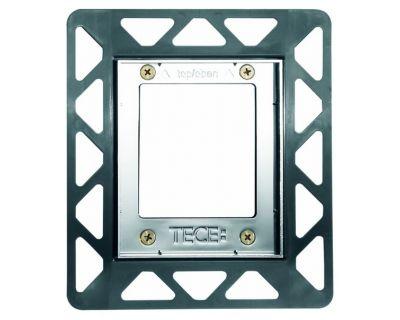 Монтажная рамка для стеклянных панелей TECE Urinal 9242649, хром глянцевый