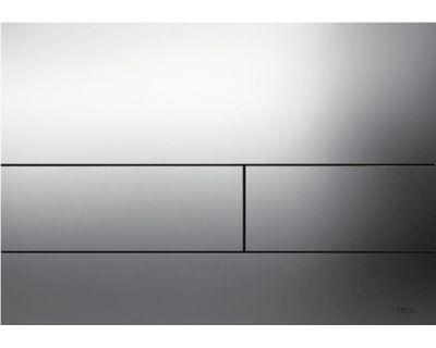 Смывная клавиша TECEsquare 9240811, сталь, хром глянцевый