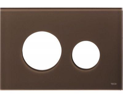 Лицевая панель TECEloop modular 9240678, стекло кофейное