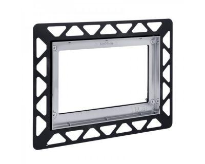 Монтажная рамка для стеклянных панелей TECE 9240649, хром глянцевый