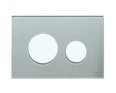 Лицевая панель TECEloop modular 9240676, стекло серебряное