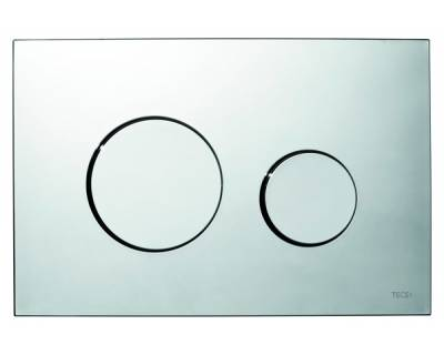 Смывная клавиша TECEloop 9240626, пластик, хром глянцевый
