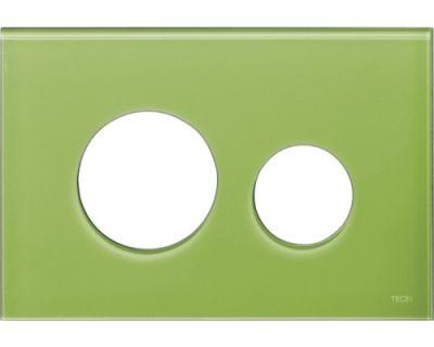 Лицевая панель TECEloop modular 9240685, стекло зеленое