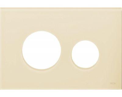 Лицевая панель TECEloop modular 9240680, стекло слоновая кость