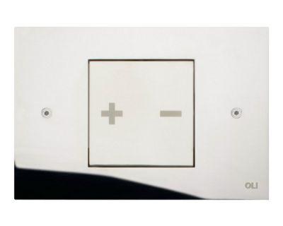 Панель смыва пневматическая OLI Inox-x 01 хром (660001)