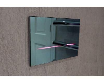 Смывная клавиша Geberit Sigma80 116.090.SM.1, зеркальное стекло (бесконтактная)