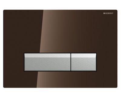 Смывная клавиша Geberit Sigma40 115.600.SQ.1 встр.система с удал.запаха