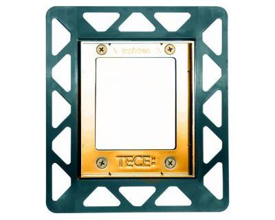 Монтажная рамка для стеклянных панелей TECE Urinal 9242648, позолоченная