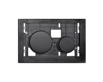 Смывная клавиша TECEloop modular 9240667, клавиши черные