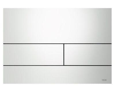 Смывная клавиша TECEsquare 9240832, сталь, белый