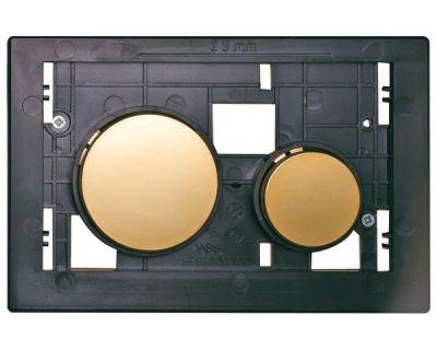 Смывная клавиша TECEloop modular 9240668, клавиши позолоченные