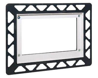 Монтажная рамка для стеклянных панелей TECE 9240646, белая