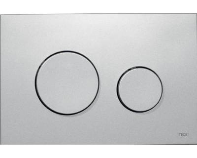 Смывная клавиша TECEloop 9240625, пластик, хром матовый