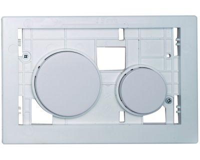 Смывная клавиша TECEloop modular 9240664, клавиши белые, антибактериальные