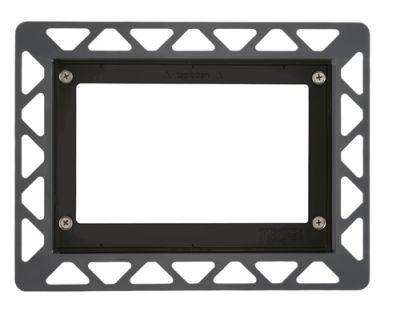 Монтажная рамка для стеклянных панелей TECE 9240647, черная