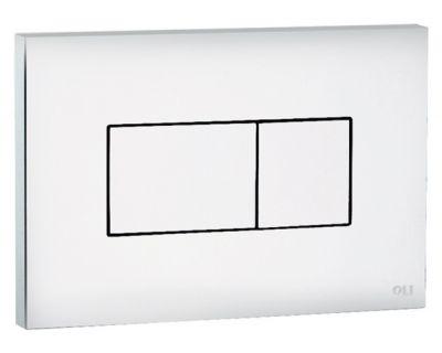 Панель смыва пневматическая OLI Karisma белая (641001)